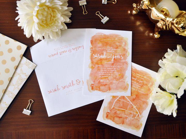 Tmx 1452103825260 Jennykielshower Chapel Hill wedding invitation