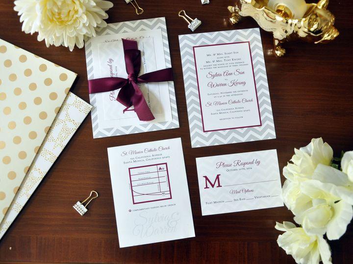 Tmx 1452103910372 Sylviawarreninvitations Chapel Hill wedding invitation