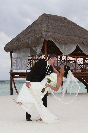 Gray Destination Wedding in Riviera Maya