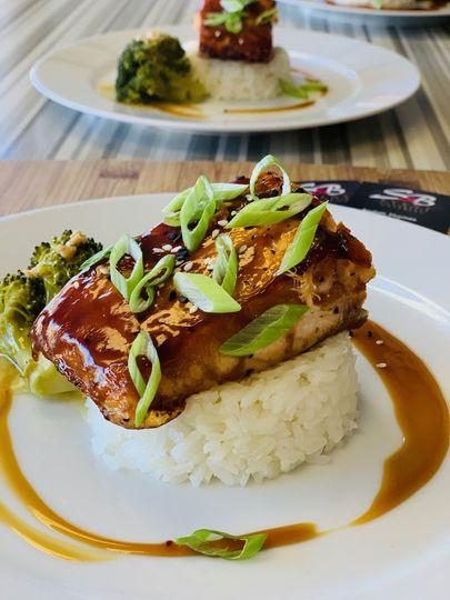 S&B's Teriyaki Glazed Salmon