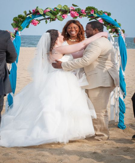 Wedding Bliss Ceremonies - beach wedding