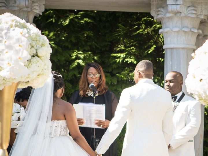 Tmx Quincie And Shanice At The Altar 51 973562 V2 Piscataway, NJ wedding officiant