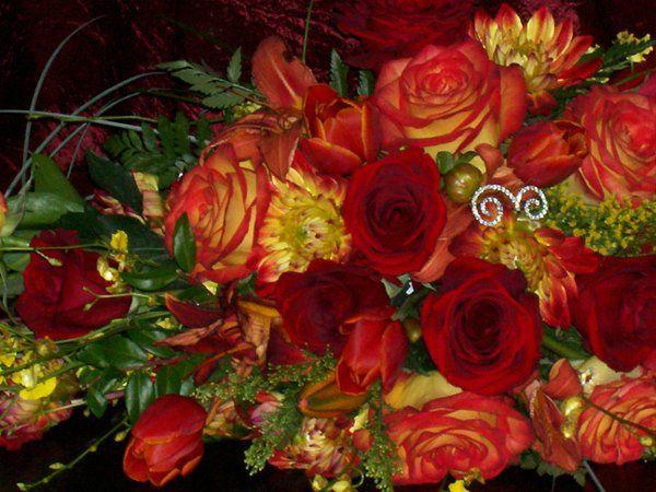 Tmx 1262118710581 ExTAMARASWEDDINGBOUQUET1 Fontana wedding florist