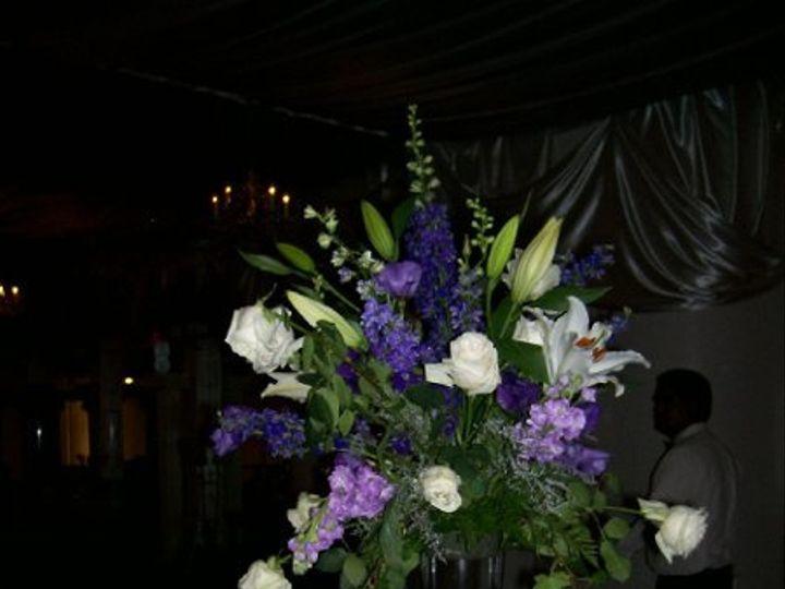 Tmx 1262118787269 ExANDRESWEDDINGCENTERPIECE1 Fontana wedding florist