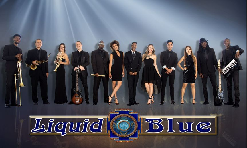 Liquid Blue with BlueBrass Horn Section