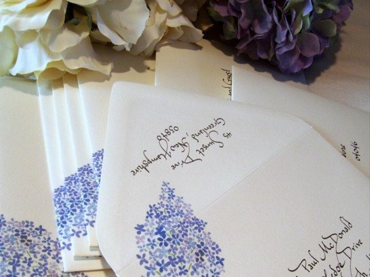 Tmx 1264714990188 Lilaccalligraphyenvelopes Greenland wedding invitation