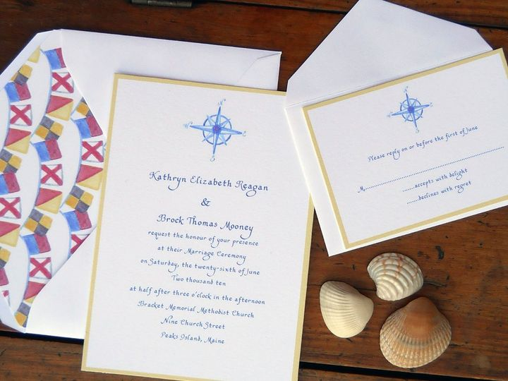 Tmx 1357735429354 Nauticalclassic Greenland wedding invitation
