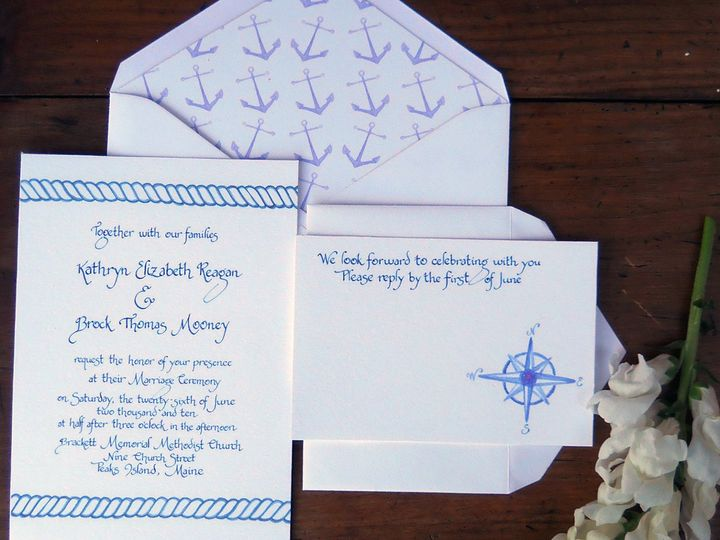 Tmx 1357735446838 Nauticalfancy Greenland wedding invitation
