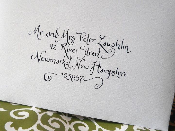 Tmx 1357822847582 Classicinblack Greenland wedding invitation