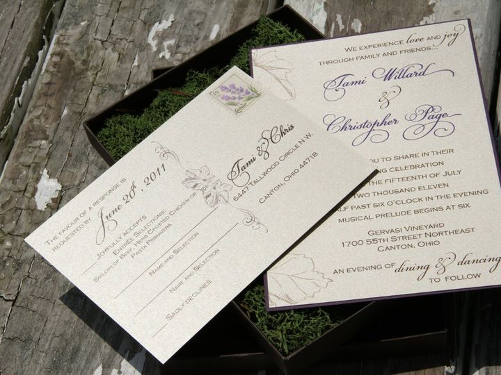 Tmx 1358356370865 IMG0203 Canton wedding invitation