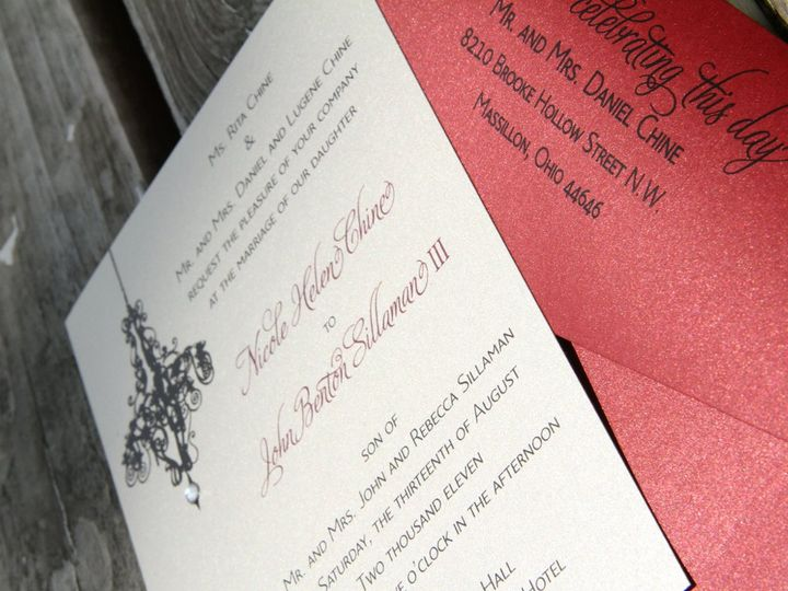 Tmx 1358356629724 IMG0227 Canton wedding invitation