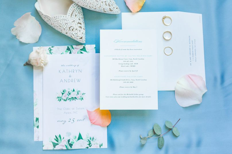 Ocean themed invites