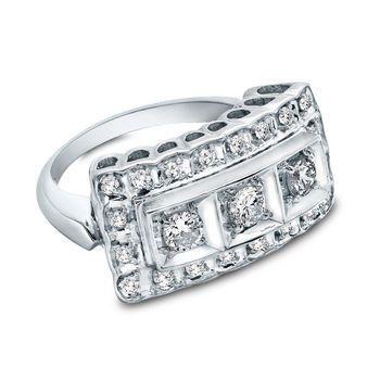 Tmx 1425585678322 1950s Vintage Diamond Ring Modesto wedding jewelry