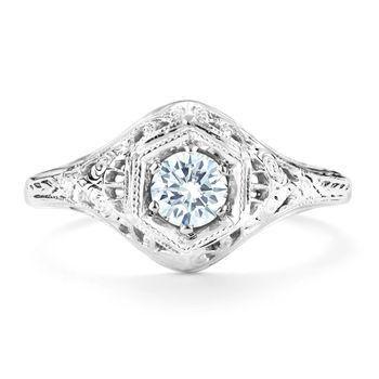 Tmx 1425585696612 Vintage .25ct Diamond Engagement Ring Modesto wedding jewelry