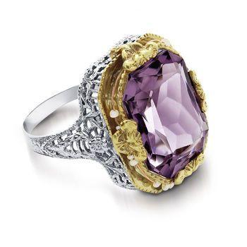 Tmx 1425585753703 Vintage Amethyst Ring Modesto wedding jewelry