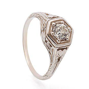 Tmx 1425585764861 Vintage Diamond Ring 2 Modesto wedding jewelry