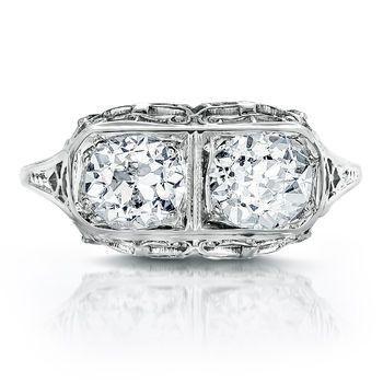 Tmx 1425585774517 Vintage Old Mine Cut Diamond Ring Modesto wedding jewelry