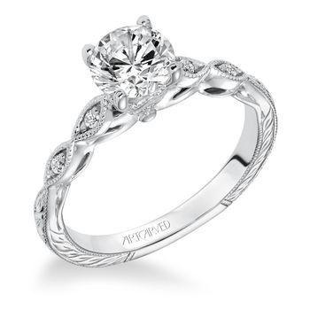 Tmx 1425587171528 Artcarved   Caraline Engagement Ring Modesto wedding jewelry