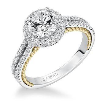 Tmx 1425587175527 Artcarved   Emmeline Ring Modesto wedding jewelry