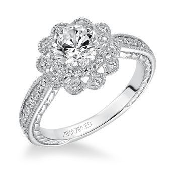 Tmx 1425587213531 Artcarved   Primrose Engagement Ring Modesto wedding jewelry