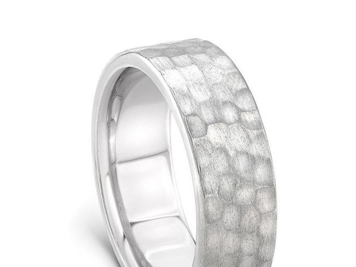 Tmx 1470337827340 Yates082115palladiumbandhammerstandingangle Modesto wedding jewelry