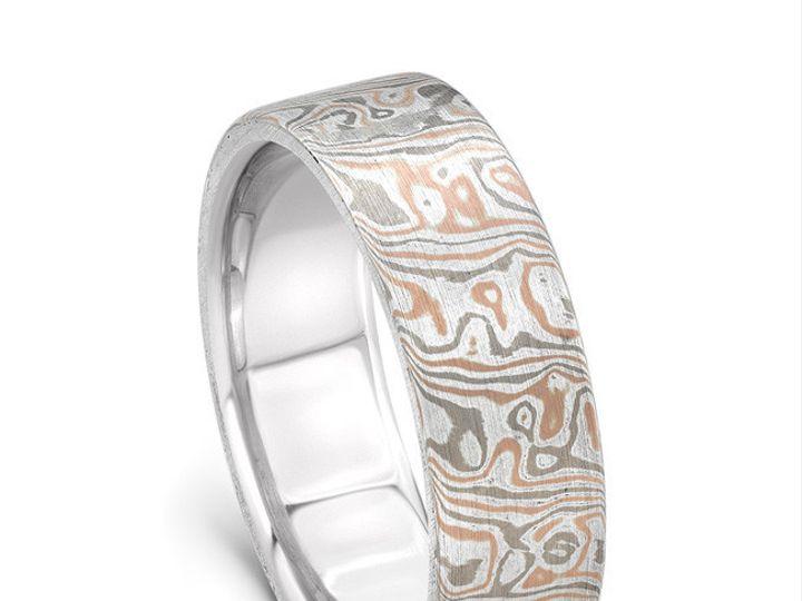 Tmx 1470337910486 Yates082115mokumegameringstandingangle Modesto wedding jewelry