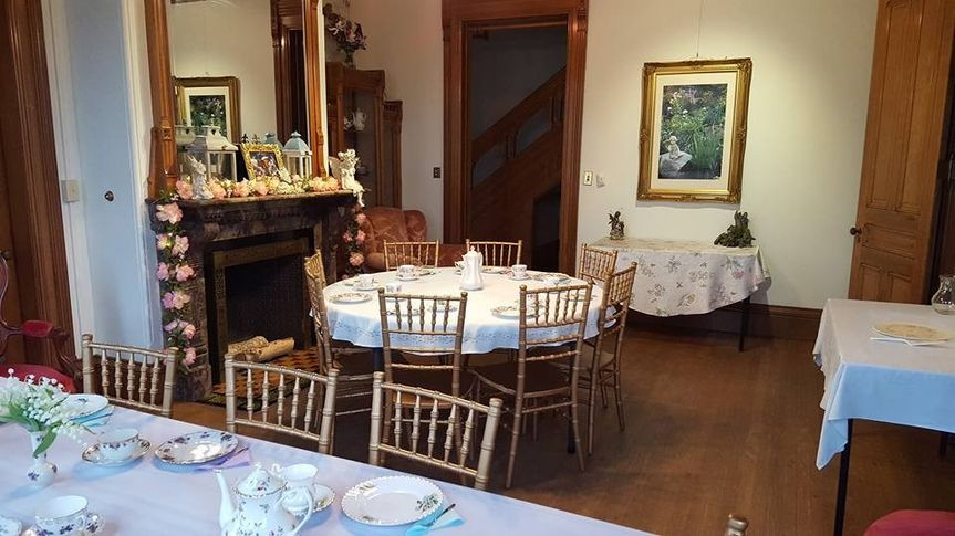 Mansion Tea Party