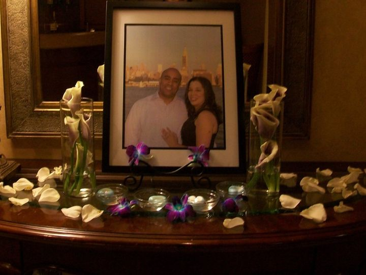 Tmx 1351102218625 SandraandRalphEntryTable Bloomfield wedding planner