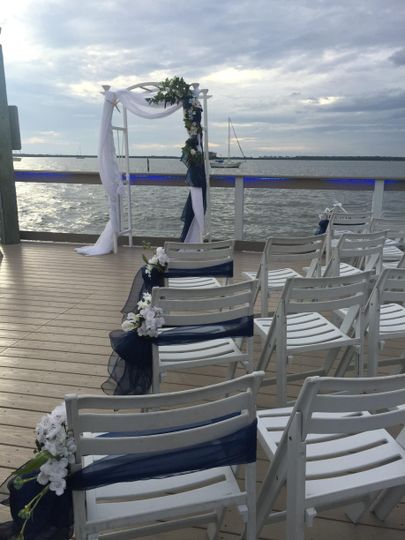 Sunset Pier Ceremony