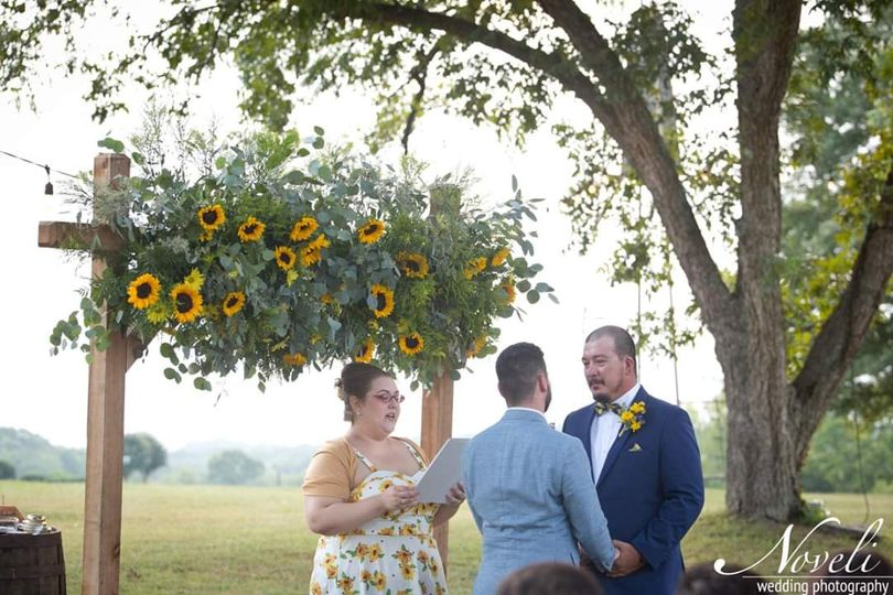 Marrying Michael and Branden