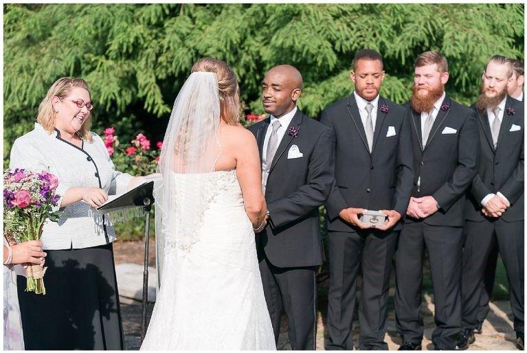 Ashley and Peyton ceremony