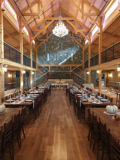 An opulent banquet
