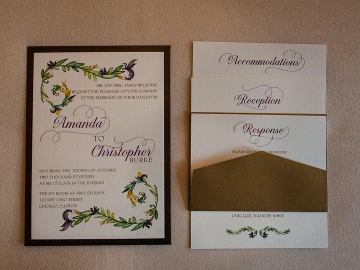 Tmx 1426281307200 Burkeca 034 Geneva, Illinois wedding invitation