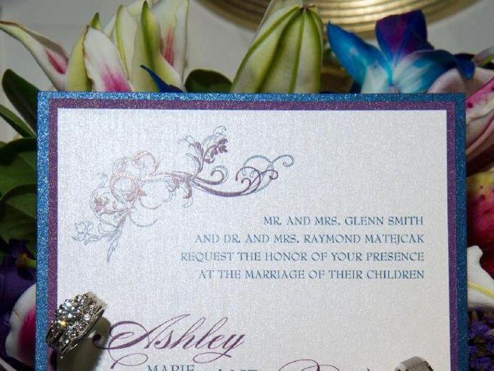 Tmx 1426281966751 Ashleysmithpaulm1 Wed 04072014invite Geneva, Illinois wedding invitation