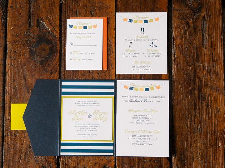 Tmx 1426282731183 Img7839 Geneva, Illinois wedding invitation