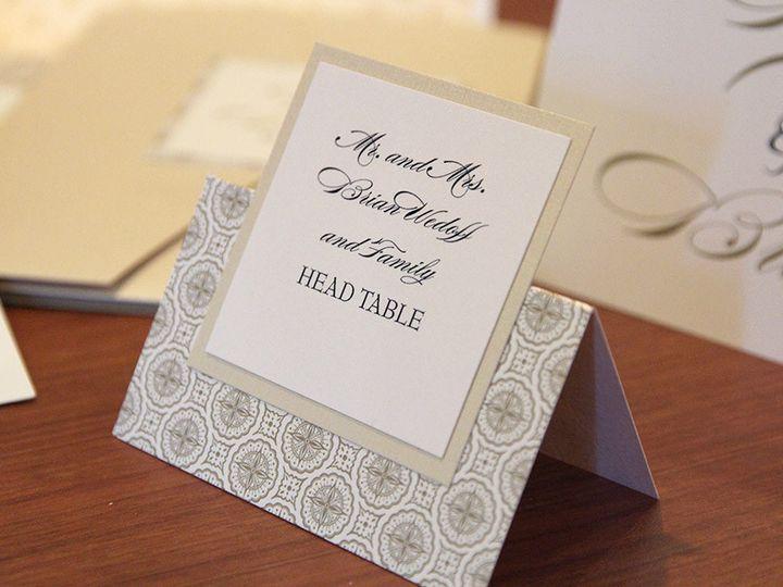 Tmx 1426283143793 09flower Placecard Geneva, Illinois wedding invitation