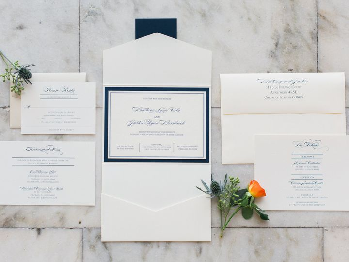 Tmx 1520356721 1dfd2c63bb2c6d34 1520356719 B618121df21fcc6a 1520356719900 1 Tara Vanderheyden  Geneva, Illinois wedding invitation