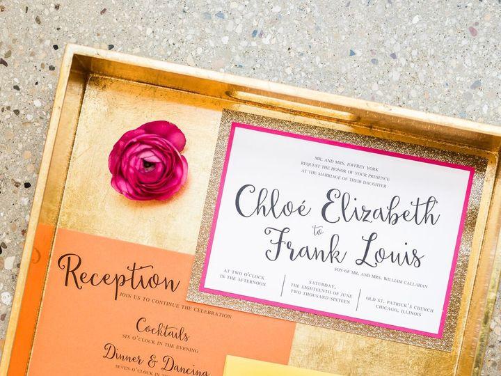 Tmx 1520356753 B1295db0f858013c 1520356751 443694ce510ee760 1520356752518 3 Chez Cheers  Shoot Geneva, Illinois wedding invitation