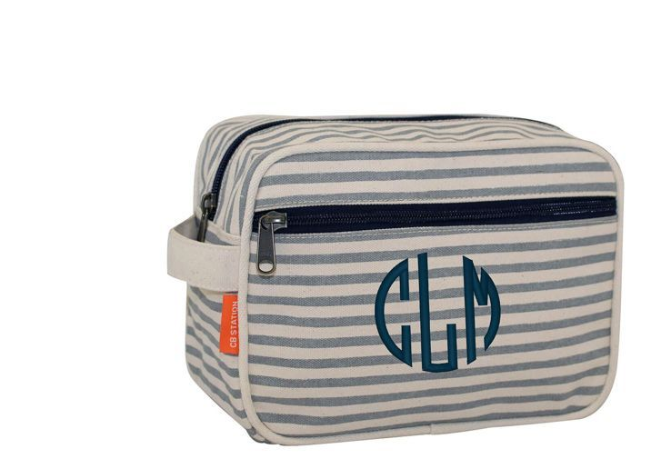 Personalized roomy travel bag/makeup bags