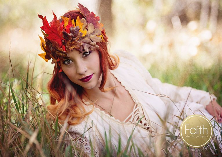 Fall Vintage/bohemian bride