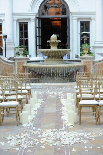 Courtyard Romance Ceremony