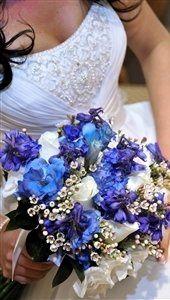 Tmx 1342891952410 BlueLizzBelladonnaIvoryRoseandWaxflower2 Las Vegas wedding venue