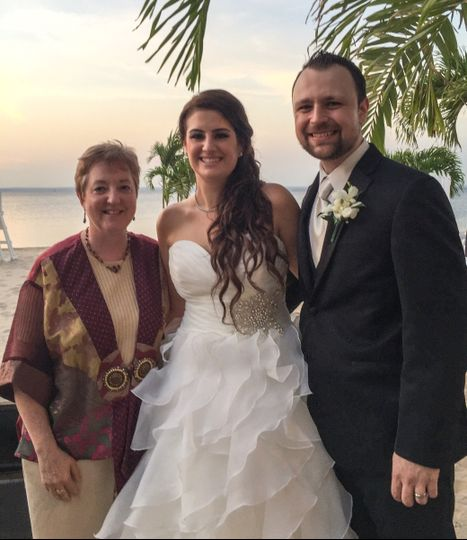 Beach wedding, Long Island