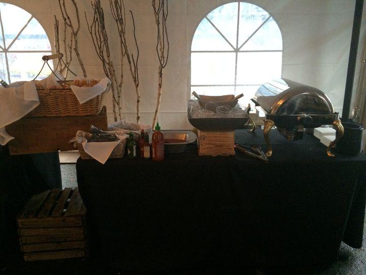 Caterer setup