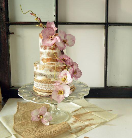 nakedgoldcake