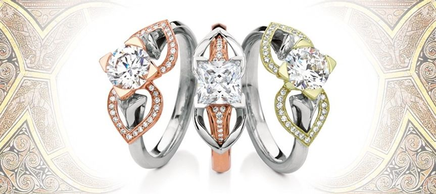 Tri color rings