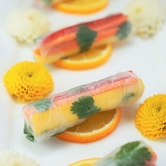 Thai vegetable spring roll