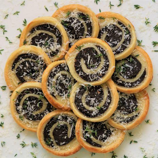 Mushroom in puff pastry