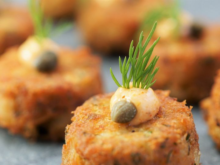 Tmx 1526564834 23e3c38d4baa86d6 1526564829 867f05578c8ab8dc 1526564819451 2 Crab Cake Boston, MA wedding catering