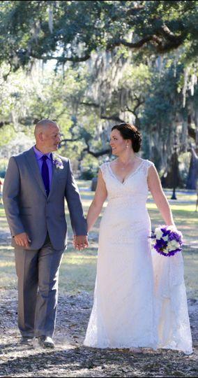 Wedding in Audubon Park